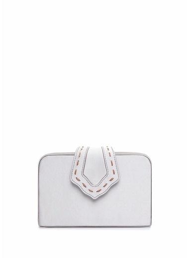 Mehry Mu Messenger / Askılı Çanta Gümüş